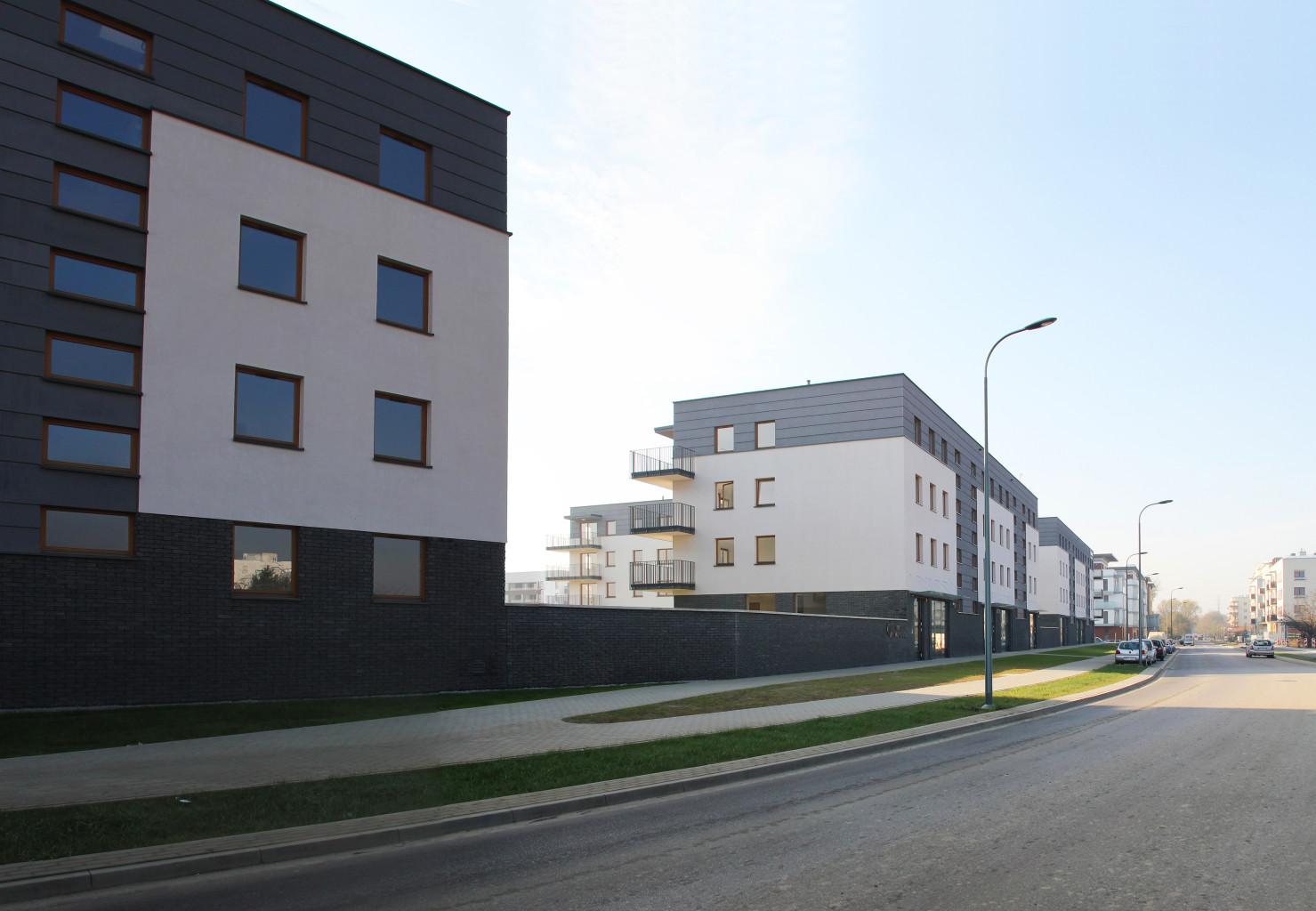 projektowanie osiedli mieszkaniowych Mokotów