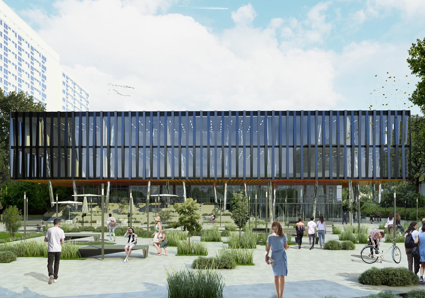 projekt budynku użyteczności publicznej