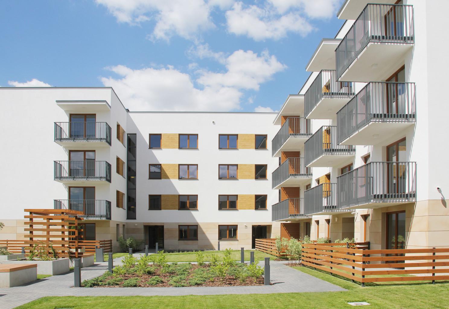 architektura osiedla mieszkaniowego