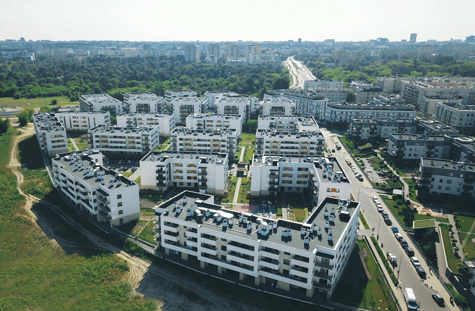 osiedla mieszkaniowe architektura