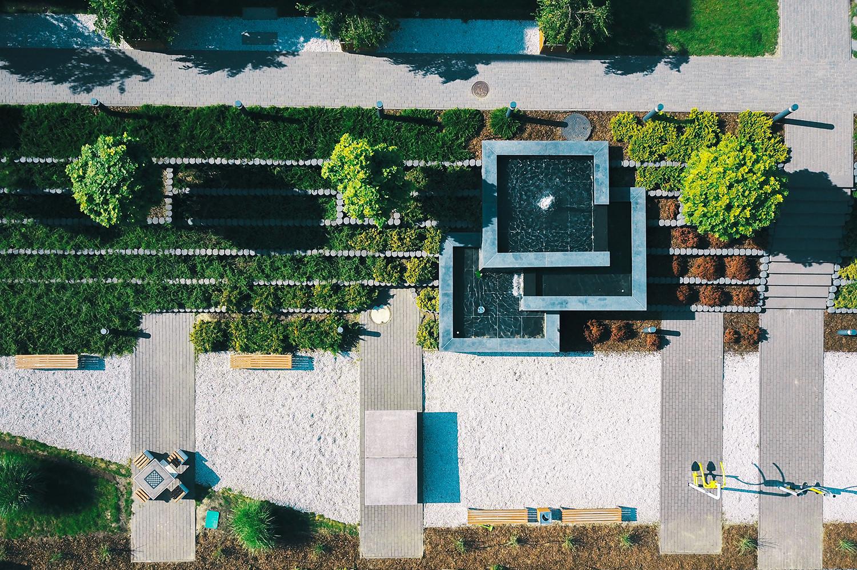 projekt osiedla mieszkaniowego Warszawa