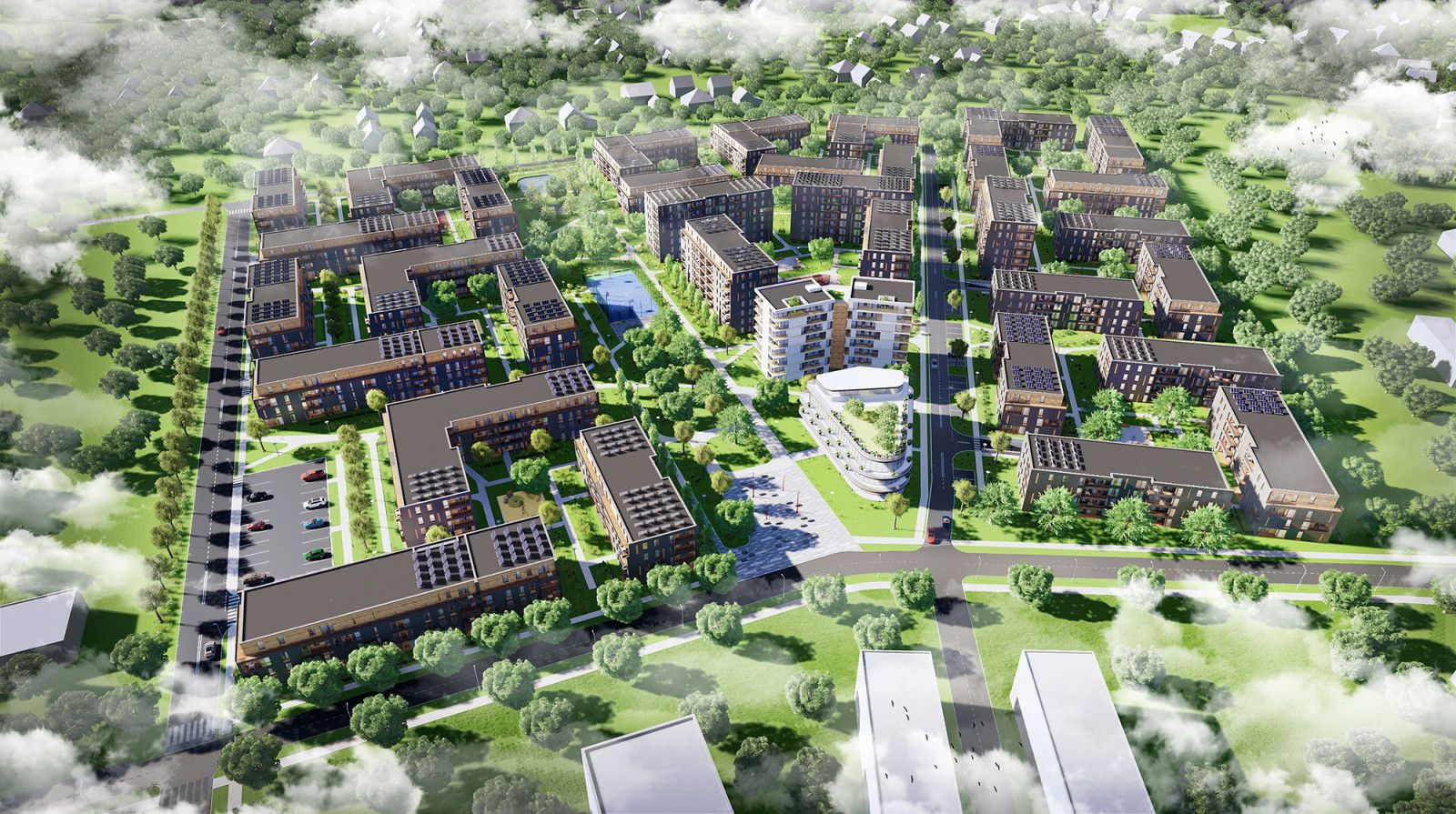 projektowanie osiedli mieszkaniowych